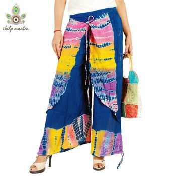 New Latest Designer Beautiful Ethnic Rayon Crepe Harem Pants (Women) Harem Legging Salwar Pants