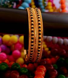 Buy Black bead bangle - 2 bangles-and-bracelet online