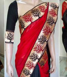 Buy NATURE FOR SALE SAREE chanderi-saree online