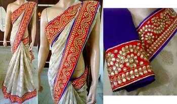 lovable saree