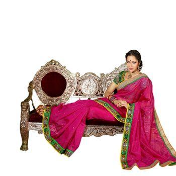 Hypnotex Net Jacquard Pink Color Designer Dress Material Starplus7216