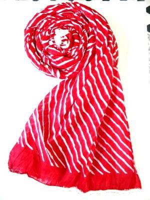 Red and white leheriya