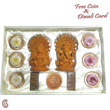 Ganesh Laxmi idols Gift set