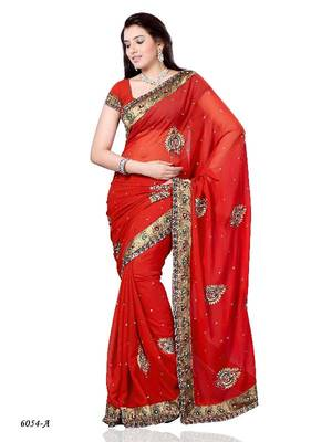 Bewitching Designer Saree by DIVA FASHION- Surat
