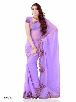 Celestial Festival Wear designer saree by DIVA FASHION - Surat