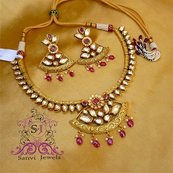 Royal Kundan & Meenakari Necklace