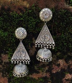 92.5 silver Jhumka