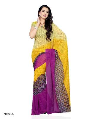 Witchery Casual wear saree by DIVA FASHION- Surat