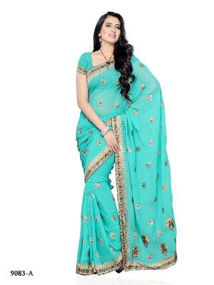 Charismatic Festival Wear Designer saree by DIVA FASHION- Surat