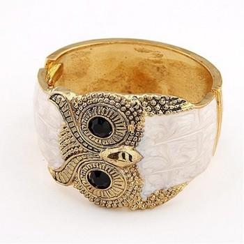 White Owl Bracelet