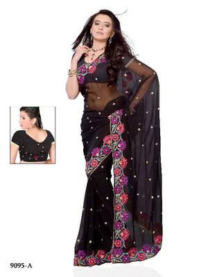 Luscious Festival Wear Designer saree by DIVA FASHION- Surat