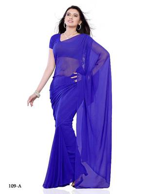 Infatuating festival/Casual wear saree in fancy fabric by DIVA FASHION- Surat