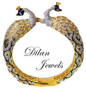 Peacock Diamond Bracelet