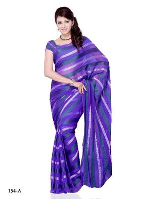Gleaming Party/Function wear saree by DIVA FASHION- Surat