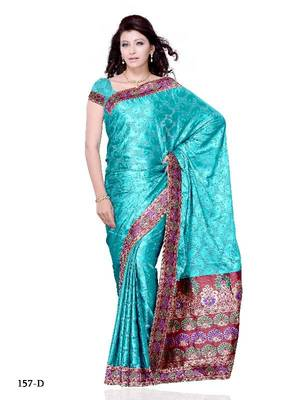 Sedating Festival/Party Wear Designer Saree by DIVA FASHION -Surat