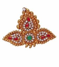Buy Heer&Sahib Royal Rajputana Designer & Handcrafted Wedding Turban Kalgi men-festive-wear online