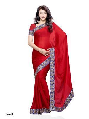 Conspicuous Festival/Party Wear Designer Saree by DIVA FASHION- Surat