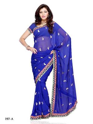 Adorable Festival/Party Wear Designer Saree by DIVA FASHION- Surat