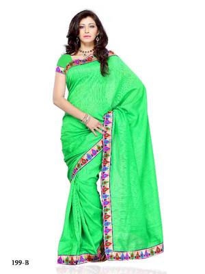 Stimulating Festival/Party Wear Designer Saree by DIVA FASHION -Surat