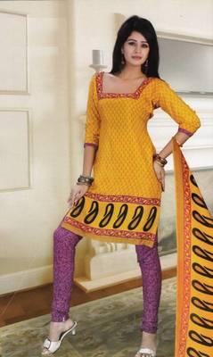 Dress Material Crepe Designer Printed Unstitched Salwar Kameez suit d.no 13008