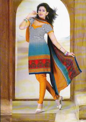 Dress Material Crepe Designer Printed Unstitched Salwar Kameez suit D.No. Z3002