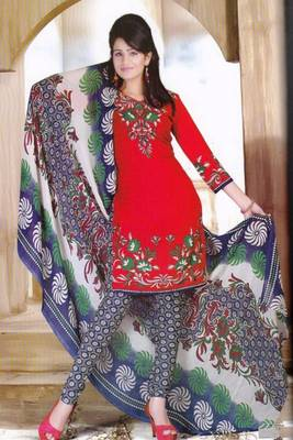 Dress Material Crepe Designer Printed Unstitched Salwar Kameez suit D.No. Z3004