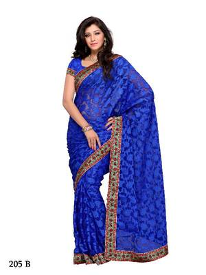Trendy Festival/Party Wear Designer Saree by DIVA FASHION- Surat