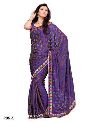 Trendy Festival/Party Wear Designer Saree by DIVA FASHION- Surat