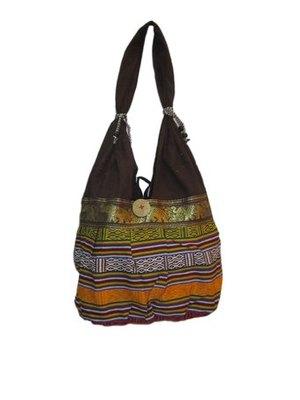 handcrafted canvas  jhola bag