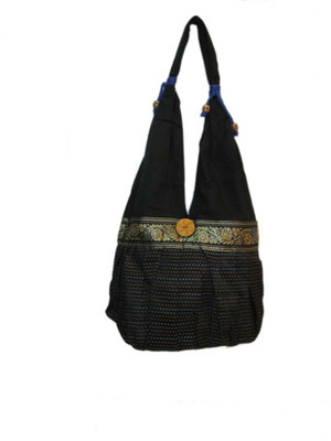 handcrafted kantha work  jhola bag