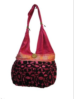 handcrafted khadi jhola bag