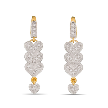 Designer American Diamond Studded Earring