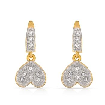 Designer American Diamond Studded  Fancy Earrings