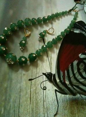 Kundan Work Beads Mala