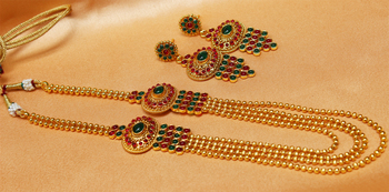 Lovely multicolour  necklace set