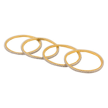 Bella Gold gold_plated cubic zirconia bangles-and-bracelets
