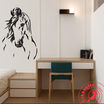 Windy- the horse silhouette wall art