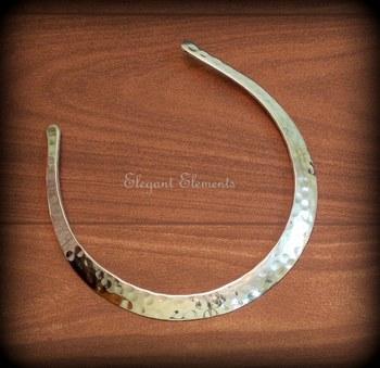 Cleopatra silver hasli necklace