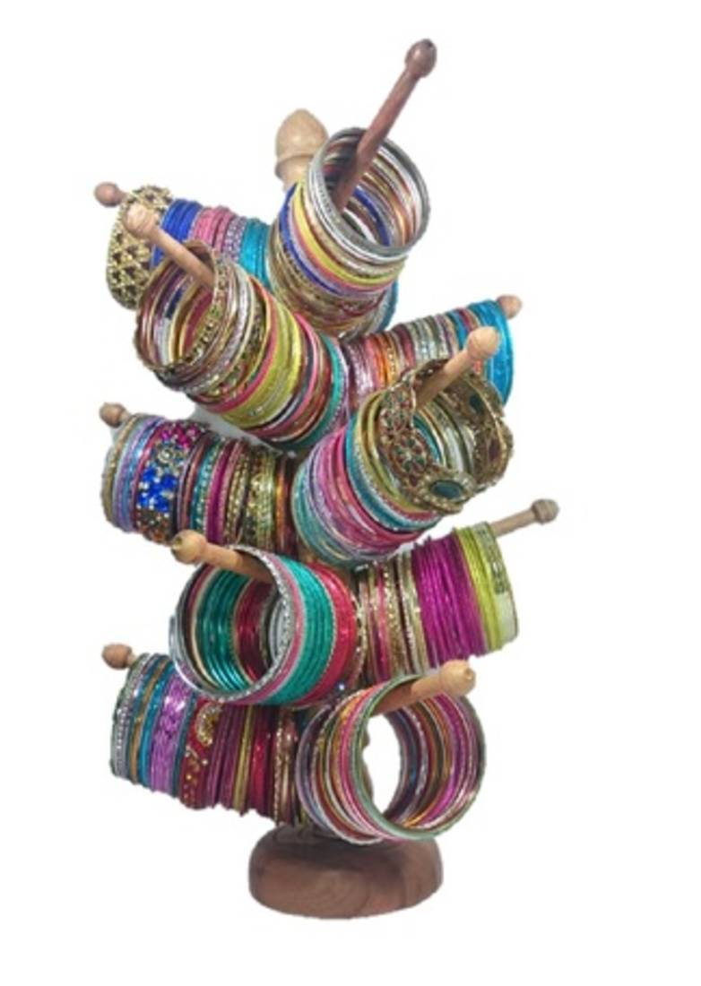 Bangle Stand Designs : Buy cream bangle stand online