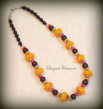 HOT SELLING!!! COLORED BEAD NECKLACE
