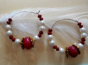 festive maroon baali