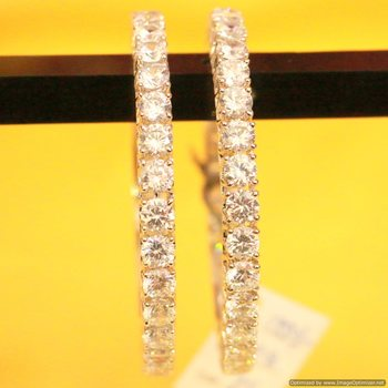 White Zircon   Bangles-And-Bracelets