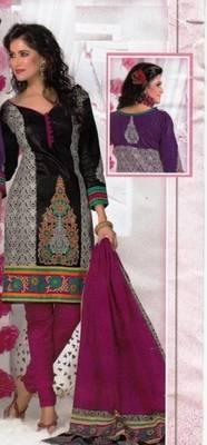 Elegant Dress Material Cotton Designer Prints Unstitched Salwar Kameez Suit D.No BN7005B