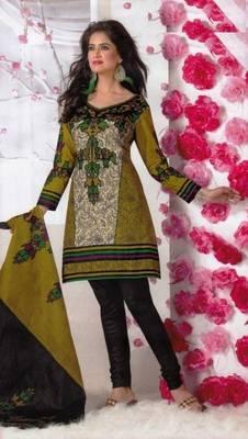 Elegant Dress Material Cotton Designer Prints Unstitched Salwar Kameez Suit D.No BN7021