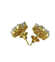 Buy Yellow  and Pearl and Earrings Other online
