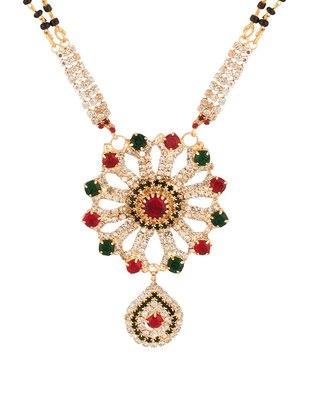 Beautiful Floral Mangalsutra set