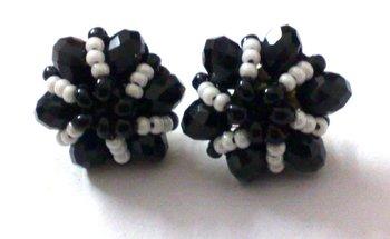 Black Crystal Ear tops