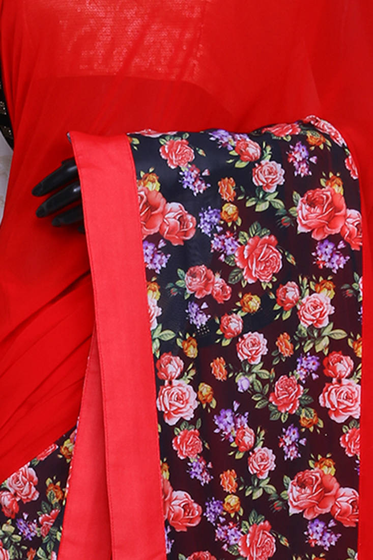 Buy Tomato Red Blouse 101