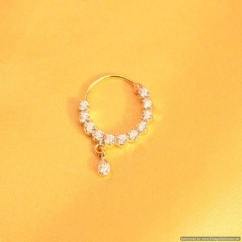 Diamond Look Marathi Nose Ring