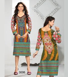 Buy Fancy multicolor Designer Printed Stitched Kurtis kurtas-and-kurti online